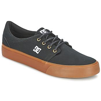 Boty Muži Nízké tenisky DC Shoes TRASE TX Černá / Zlatá