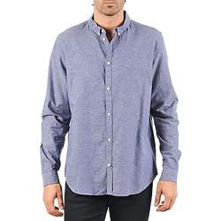 Textil Muži Košile s dlouhymi rukávy Cheap Monday DAMON BD SHIRT Modrá