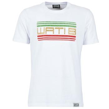 Textil Muži Trička s krátkým rukávem Wati B TSPAIL Bílá