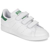 Boty Nízké tenisky adidas Originals STAN SMITH CF Bílá / Zelená