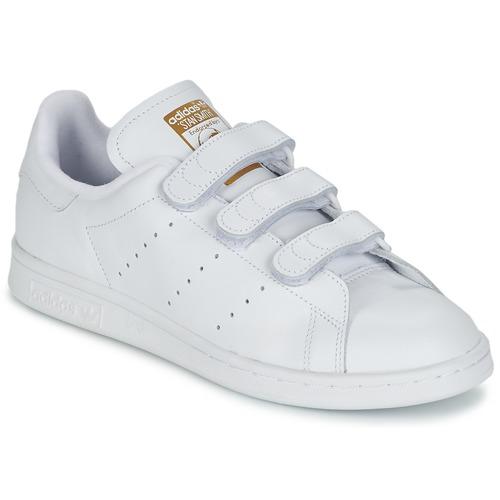Boty Nízké tenisky adidas Originals STAN SMITH CF Bílá