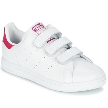 Boty Dívčí Nízké tenisky adidas Originals STAN SMITH CF C Bílá
