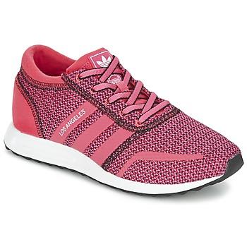 Boty Ženy Nízké tenisky adidas Originals LOS ANGELES W Růžová