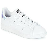 Boty Dívčí Nízké tenisky adidas Originals STAN SMITH J Bílá