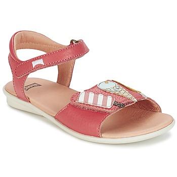 Boty Dívčí Sandály Camper TWS Růžová