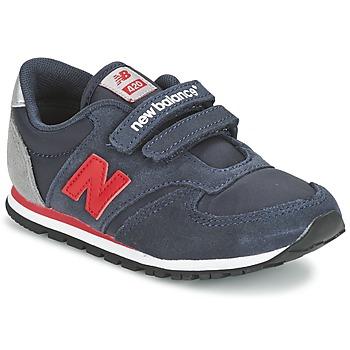 Boty Děti Nízké tenisky New Balance KE420 Tmavě modrá / Červená