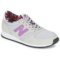 Boty Ženy Nízké tenisky New Balance WL420 Šedá / Fialová