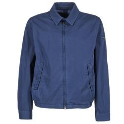Textil Muži Bundy Hackett CLASSIC BLOUSON Tmavě modrá