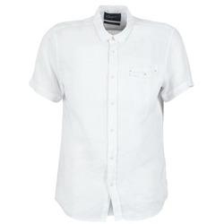 Textil Muži Košile s krátkými rukávy Chevignon C-LINEN Bílá