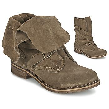 Boty Ženy Kotníkové boty Casual Attitude GRAVINE Hnědá