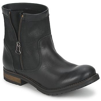 Boty Ženy Kotníkové boty Casual Attitude ISPINI Černá