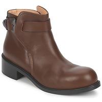 Boty Ženy Kotníkové boty Kallisté 5723 Hnědá