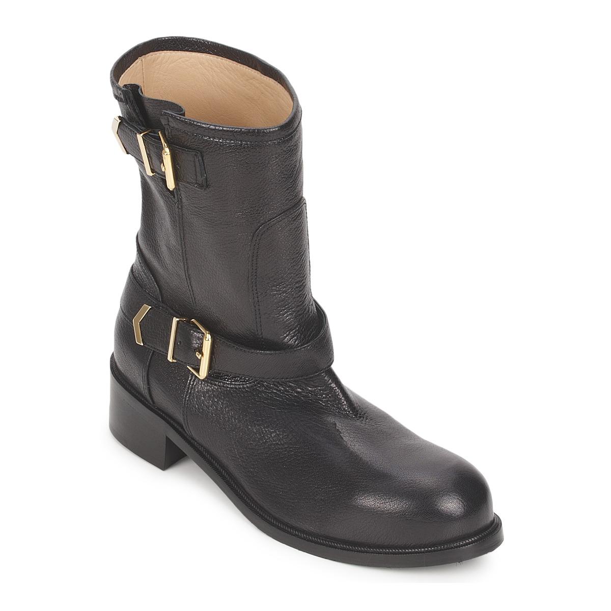 Kotnikove boty Kallisté 5609 Černá