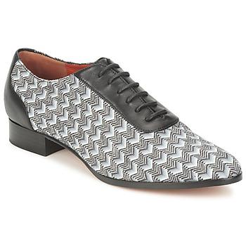 Snerovaci spolecenska obuv Missoni WM076 Černá / Šedá 350x350