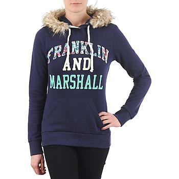 Textil Ženy Mikiny Franklin & Marshall COWICHAN Tmavě modrá