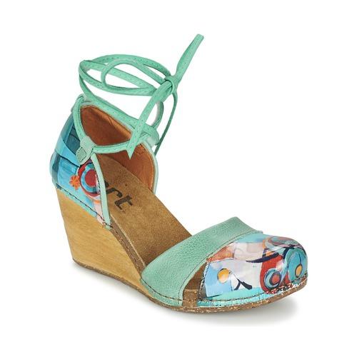 Boty Ženy Sandály Art VALBY 499 Zelená
