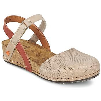 Boty Ženy Sandály Art POMPEI 739 Béžová