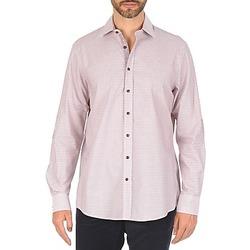 Textil Muži Košile s dlouhymi rukávy Hackett MULTI MINI GRID CHECK Růžová