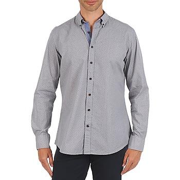 Textil Muži Košile s dlouhymi rukávy Hackett MEDALLION MULTI BD Modrá