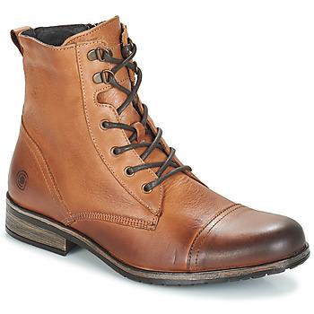 Boty Muži Kotníkové boty Casual Attitude RIBELLE Velbloudí hnědá