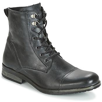 Boty Muži Kotníkové boty Casual Attitude RIBELLE Černá