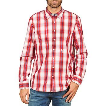 Textil Muži Košile s dlouhymi rukávy Gaastra ECHO SOUNDING Červená