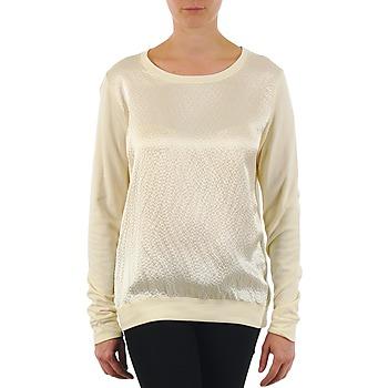 Textil Ženy Trička s dlouhými rukávy Majestic 237 Krémově bílá