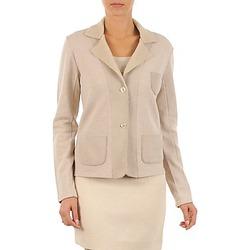 Textil Ženy Saka / Blejzry Majestic 244 Béžová