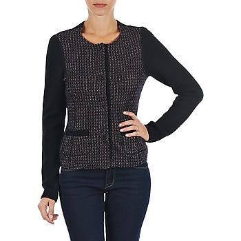 Textil Ženy Svetry / Svetry se zapínáním Marc O'Polo FANNIE Černá