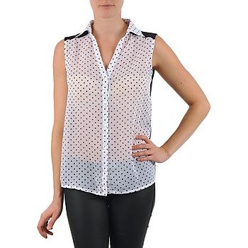 Textil Ženy Košile / Halenky La City O DEB POIS Bílá
