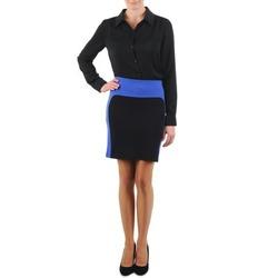 Textil Ženy Sukně La City JMILBLEU Černá / Modrá