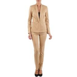 Textil Ženy Kapsáčové kalhoty La City PBASIC Béžová