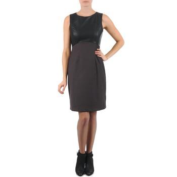 Textil Ženy Krátké šaty La City RTANIA Černá / Šedá