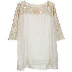 Textil Ženy Halenky / Blůzy Stella Forest ATU030 Béžová