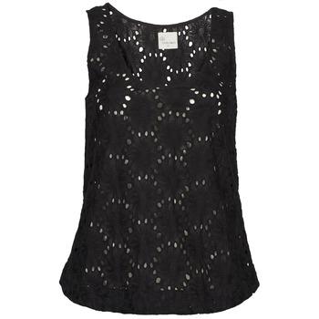 Textil Ženy Tílka / Trička bez rukávů  Stella Forest ADE007 Černá