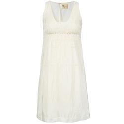 Textil Ženy Krátké šaty Stella Forest ARO015 Krémově bílá