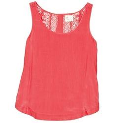 Textil Ženy Tílka / Trička bez rukávů  Stella Forest ADE009 Růžová
