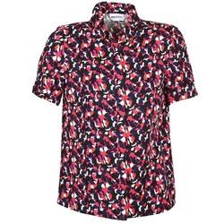Textil Ženy Košile s krátkými rukávy American Retro NEOSHIRT Černá / Růžová / Oranžová