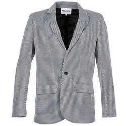 Textil Ženy Saka / Blejzry American Retro JACKYLO Bílá / Černá
