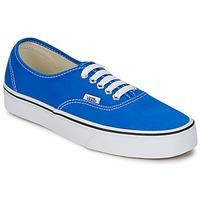Boty Nízké tenisky Vans AUTHENTIC Modrá / Bílá