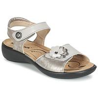 Boty Ženy Sandály Romika IBIZA 67 Stříbřitá