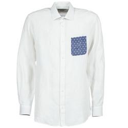 Textil Muži Košile s dlouhymi rukávy Serge Blanco CHACA Bílá