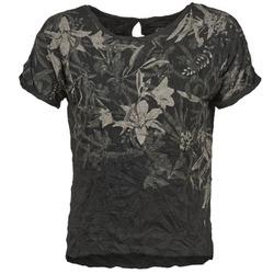 Textil Ženy Trička s krátkým rukávem Oxbow NIANA Černá