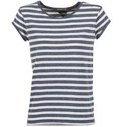 Textil Ženy Trička s krátkým rukávem Tommy Jeans AMELIE Tmavě modrá / Bílá