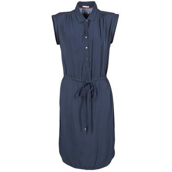 Textil Ženy Krátké šaty Tommy Jeans BASIC SHIRT DRESS Tmavě modrá