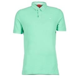 Textil Muži Polo s krátkými rukávy Vicomte A. GARMENT DYE Zelená