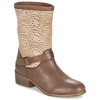 Boty Ženy Kotníkové boty Betty London CASTAGNO Hnědá