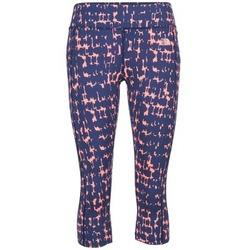 Textil Ženy Legíny The North Face PULSE CAPRI TIGHT Tmavě modrá / Růžová