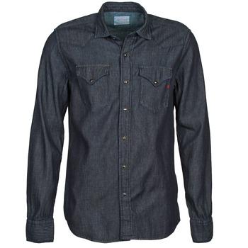 Textil Muži Košile s dlouhymi rukávy Replay M4860N Šedá