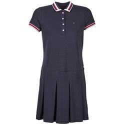 Textil Ženy Krátké šaty Tommy Hilfiger MELINDA Tmavě modrá